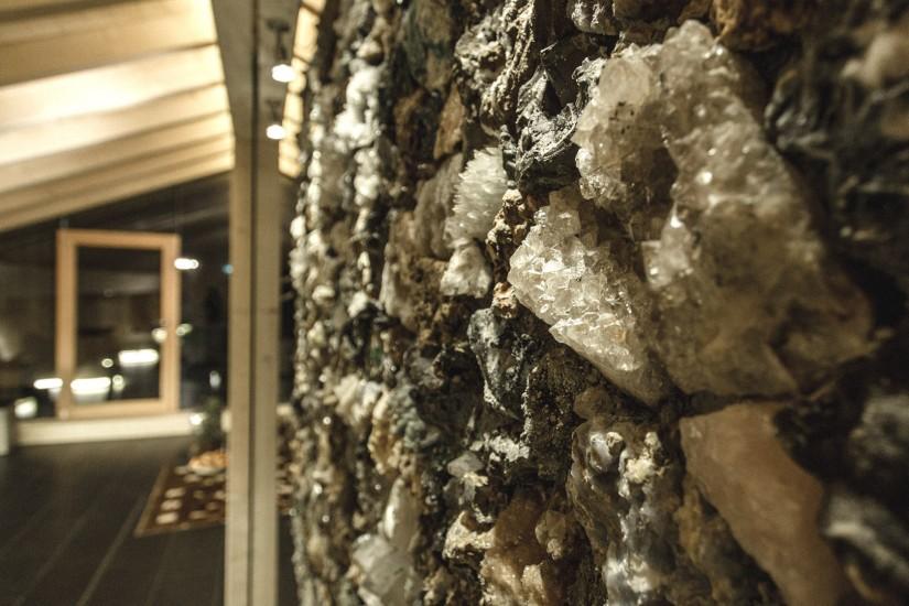 Direkt neben the panoramic heat befinden sich the rest coves, die organisch geformten Ruhe-Kojen.