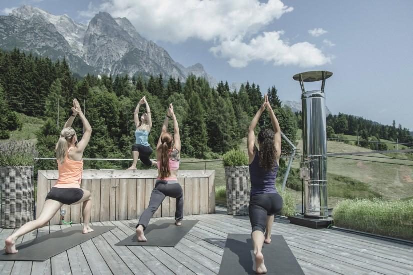 Viele Sportliche Aktivitäten werden über freiem Himmel angeboten.