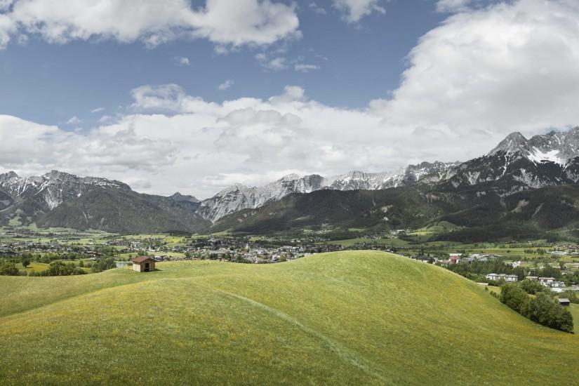 Einzigartige Landschaften im Grünen.