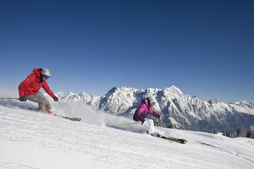 Auch als Skigebiet hat Leogang einiges zu bieten - nämlich über 200 Pistenkilometer und 55 hochmoderne Seilbahn- und Liftanlagen. Da ist für jeden Wintersportler das passende dabei.