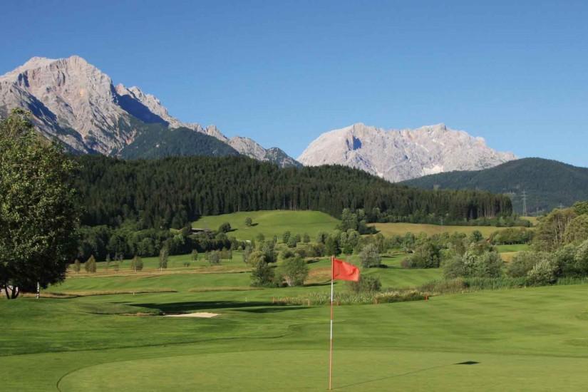 Golfclub Urslautal Saalfelden - einer der schönsten Meisterschafts Golfplätze in den Alpen.
